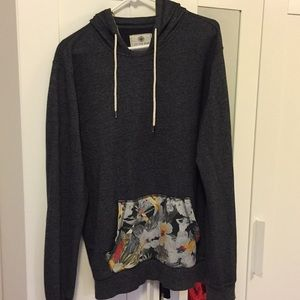 Large On The Byas Gray Hoodie